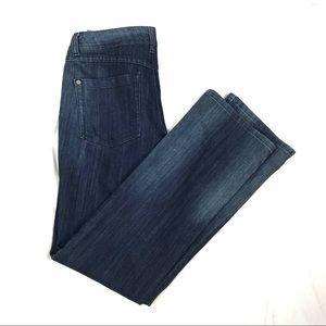 LIKE NEW! Inc boot leg regular fit hi rise jeans